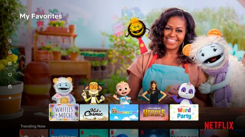 Netflix Revamps Kids Profiles to Add Character-Based Favorites Row on TVs