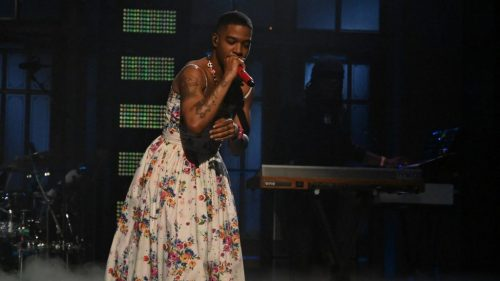 "Watch Kid Cudi Perform, Star in ""Weird Little Flute"" Sketch on SNL"