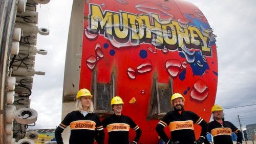 Watch Mudhoney Unveil Tunnel Boring Machine Named After Them