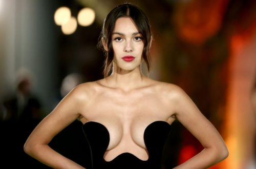 Olivia Rodrigo Stuns in Plunging Black Dress at Academy Museum of Motion Pictures Opening Gala