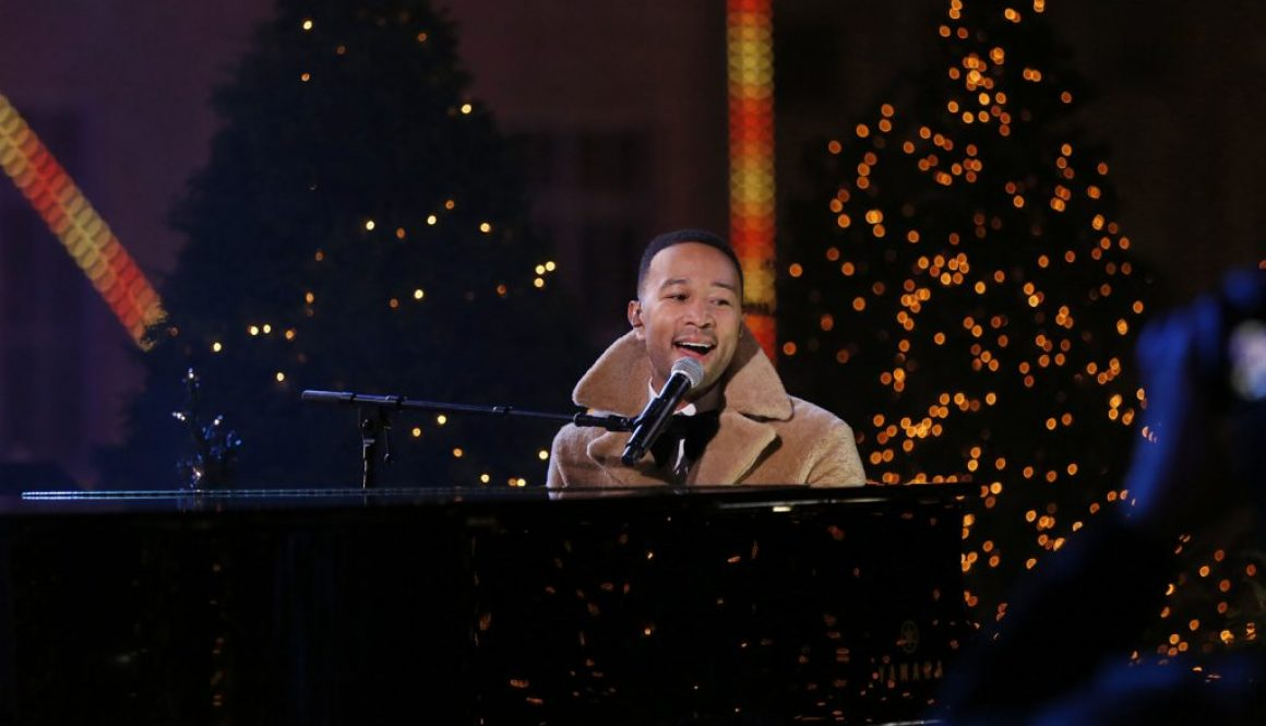 John Legend Croons Duo of Christmas Classics on 'Christmas in Rockefeller Center' Tree-Lighting Special