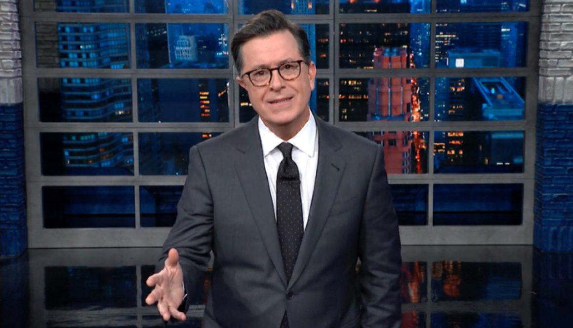 Stephen Colbert Mocks Former CBS Chief Leslie Moonves on 'Late Show'