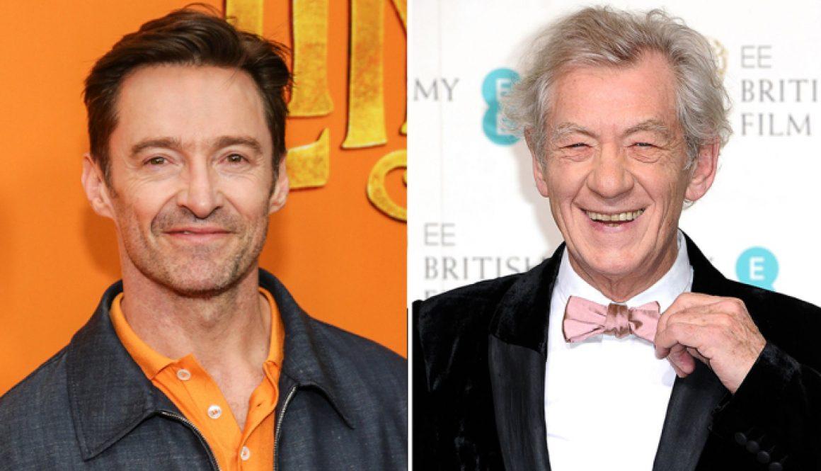 Hugh Jackman Leads Massive One-Man Show Crowd in 'Happy Birthday' for Ian McKellen