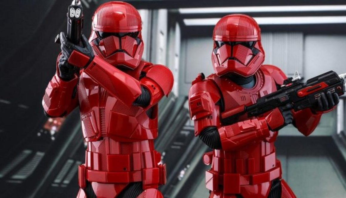 Sith Trooper Revealed From 'Star Wars: The Rise of Skywalker'