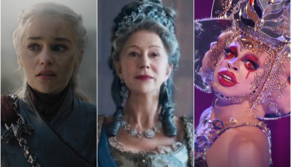 Rating 2019's TV Queens: From Daenerys Targaryen to Yvie Oddly