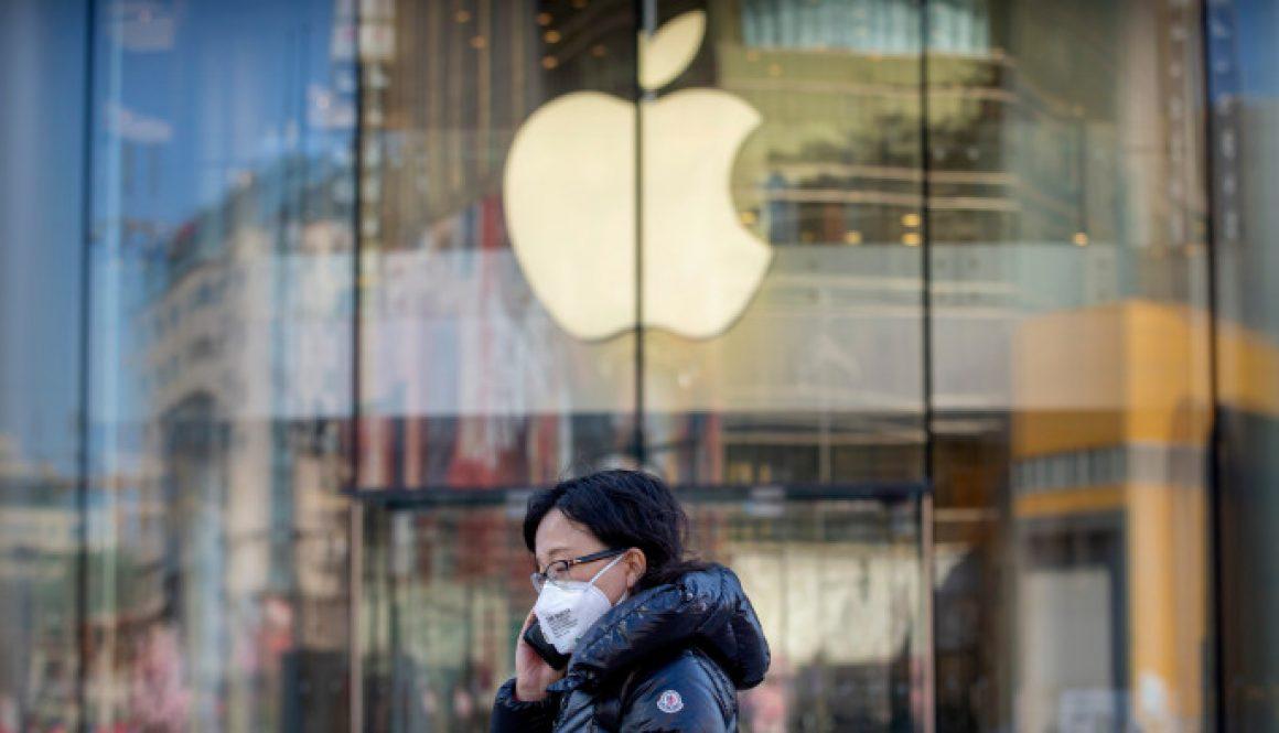 Apple Warns of Sales Shortfall for March Quarter, Blaming Coronavirus Outbreak