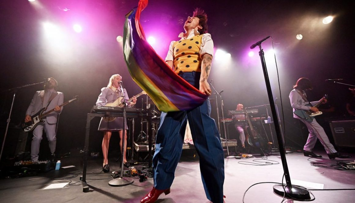 Harry Styles Brings Arena-Sized Swagger to Secret Club Show in Brooklyn