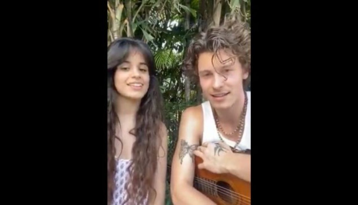 Camila Cabello, Shawn Mendes Surprise Grounded Fans With Live-Stream Duets (Watch)