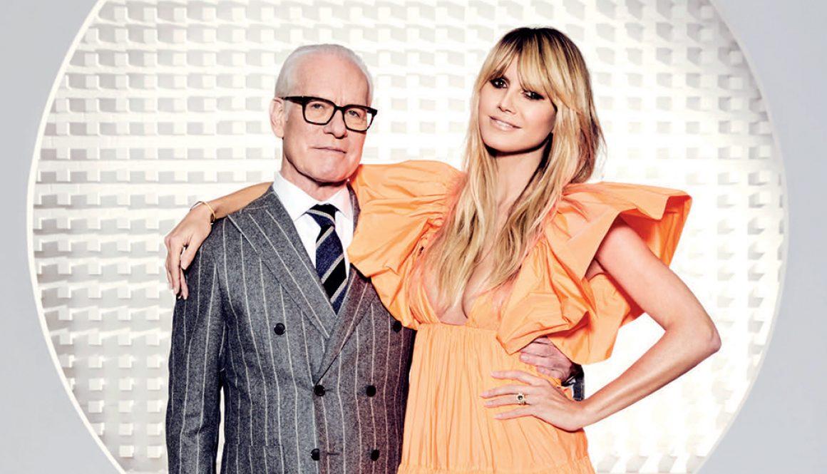 'Making The Cut': Heidi Klum and Tim Gunn on Season 1 Finale, Fashion Amid Coronavirus