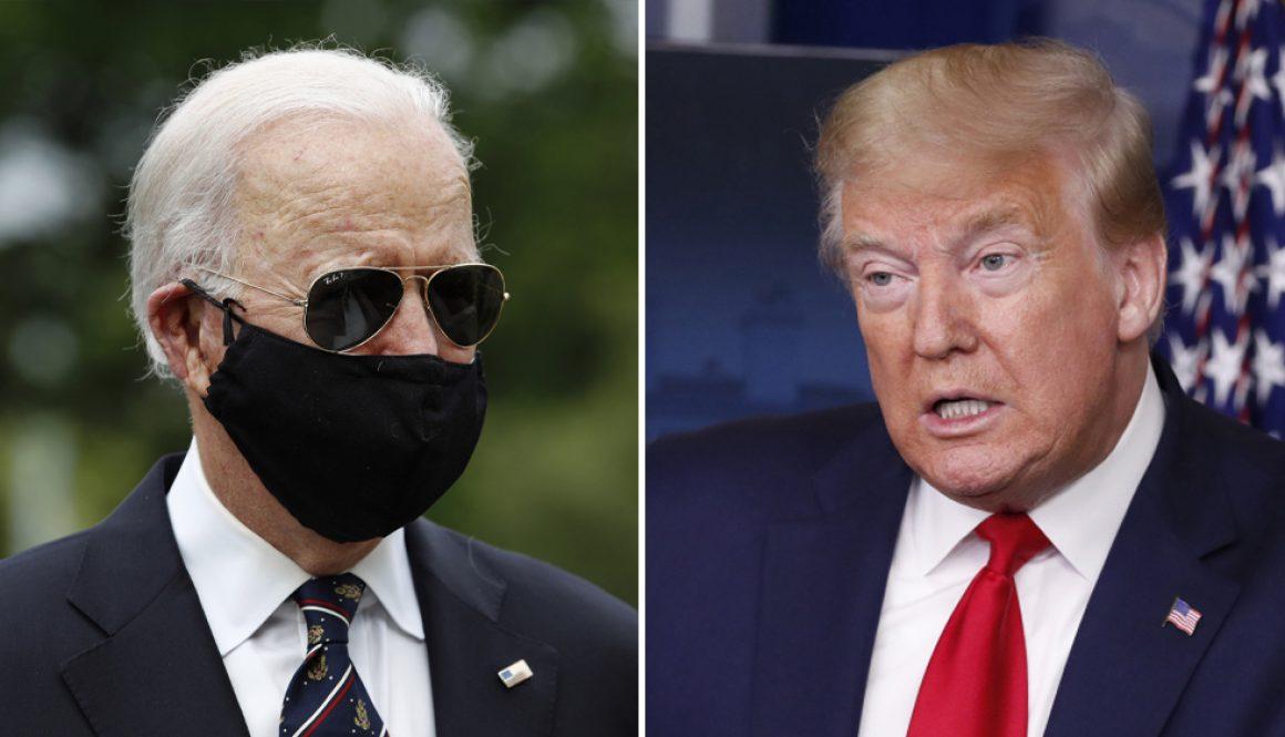 Biden Calls Trump an 'Absolute Fool' for Not Wearing a Face Mask