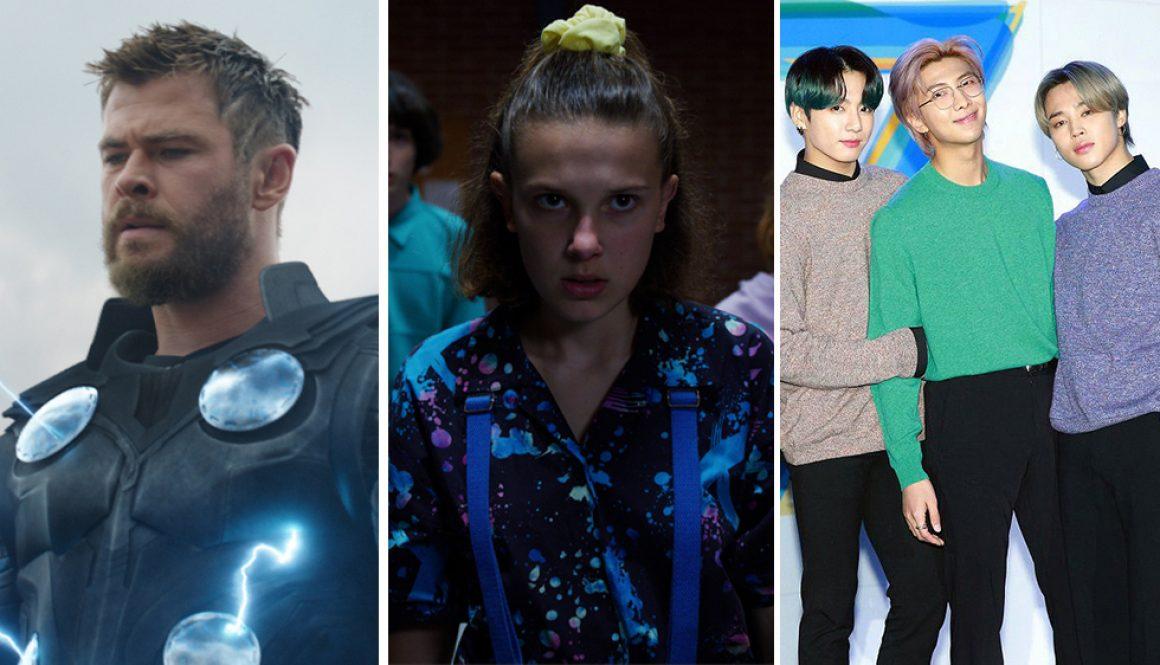 Kids' Choice Awards: 'Avengers: Endgame,' 'Stranger Things,' BTS Win at Virtual Show