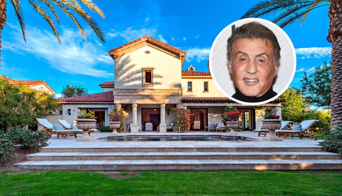 Sylvester Stallone Lists Desert Getaway in La Quinta's Madison Club