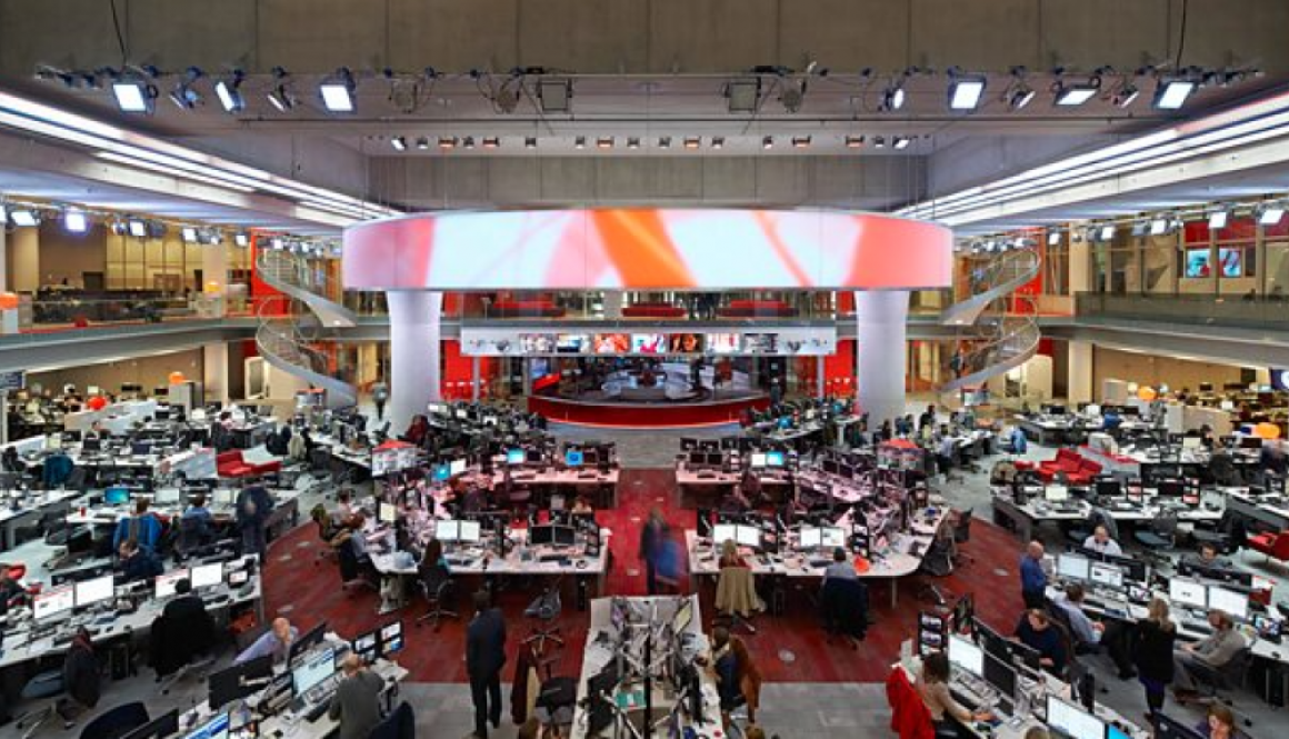 BBC to Cut 450 Jobs Across Regional Services