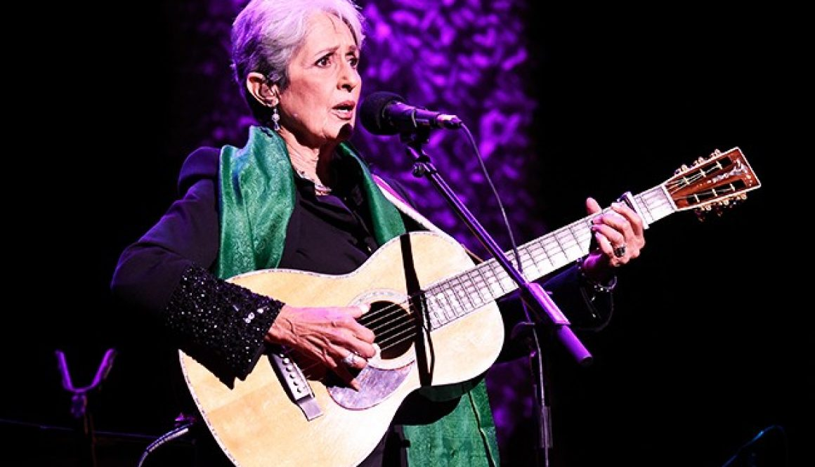 Joan Baez to Receive 2020 Woody Guthrie Prize