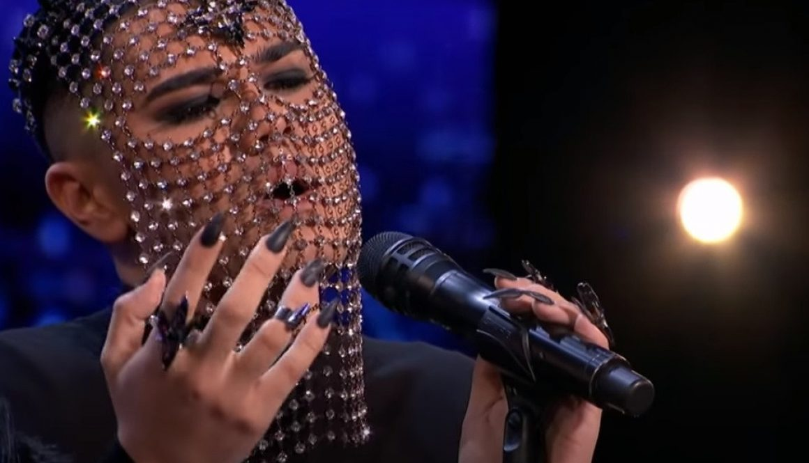 Masked Singer Sheldon Riley Shines With Billie Eilish Cover on 'AGT': Watch