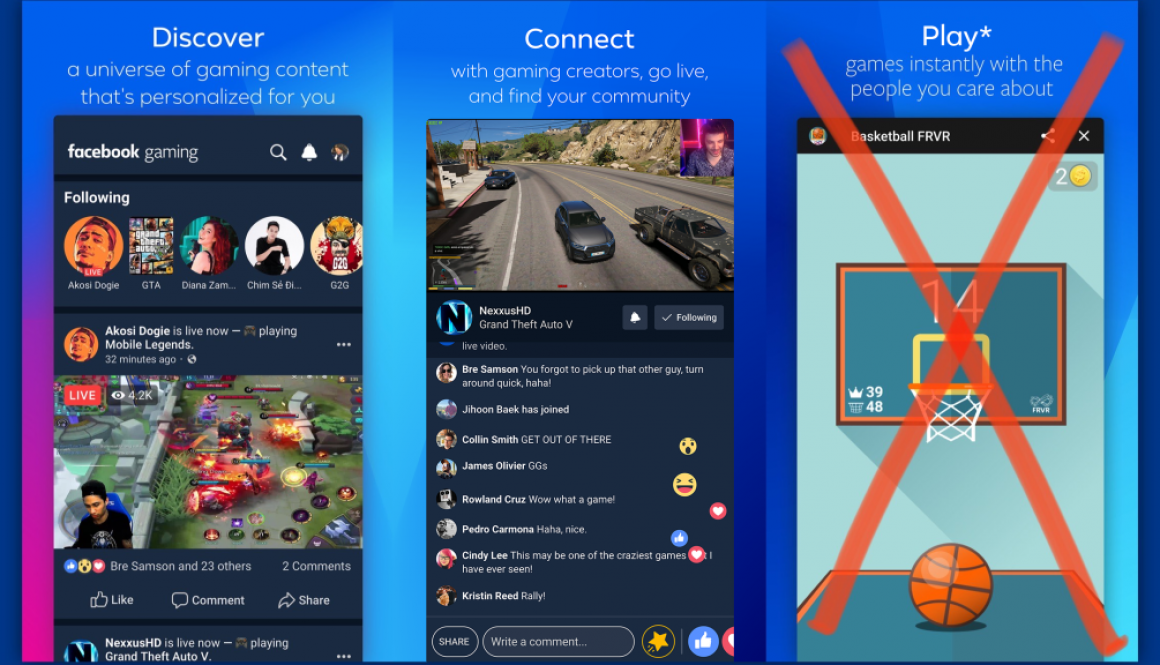 Facebook Blasts Apple After Facebook Gaming iOS App Approved — but Without Any Games