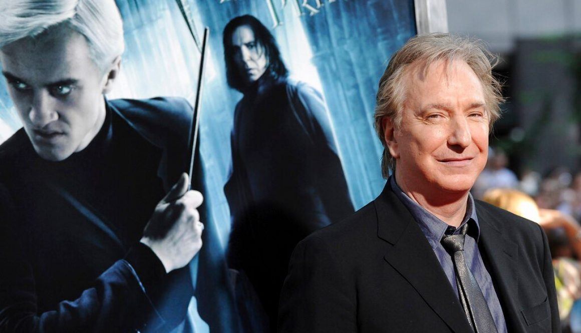 Alan Rickman's Diaries Will be Published as a Book in 2022