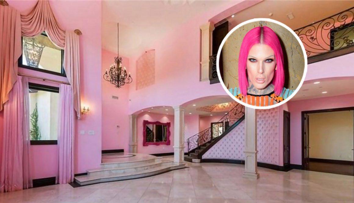 Jeffree Star Takes a Loss on Barbie Pink Calabasas Starter Mansion
