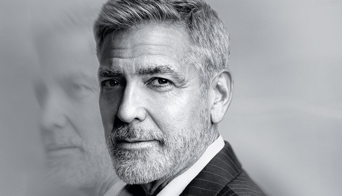 George Clooney Honored at MoMA Film Benefit by Julianna Margulies and David Letterman