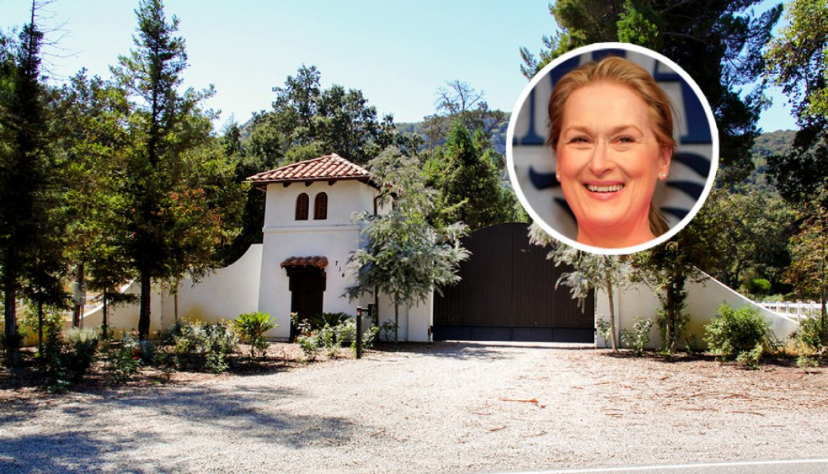 Meryl Streep Calls a Bucolic Thousand Oaks Estate Home in 'It's Complicated'