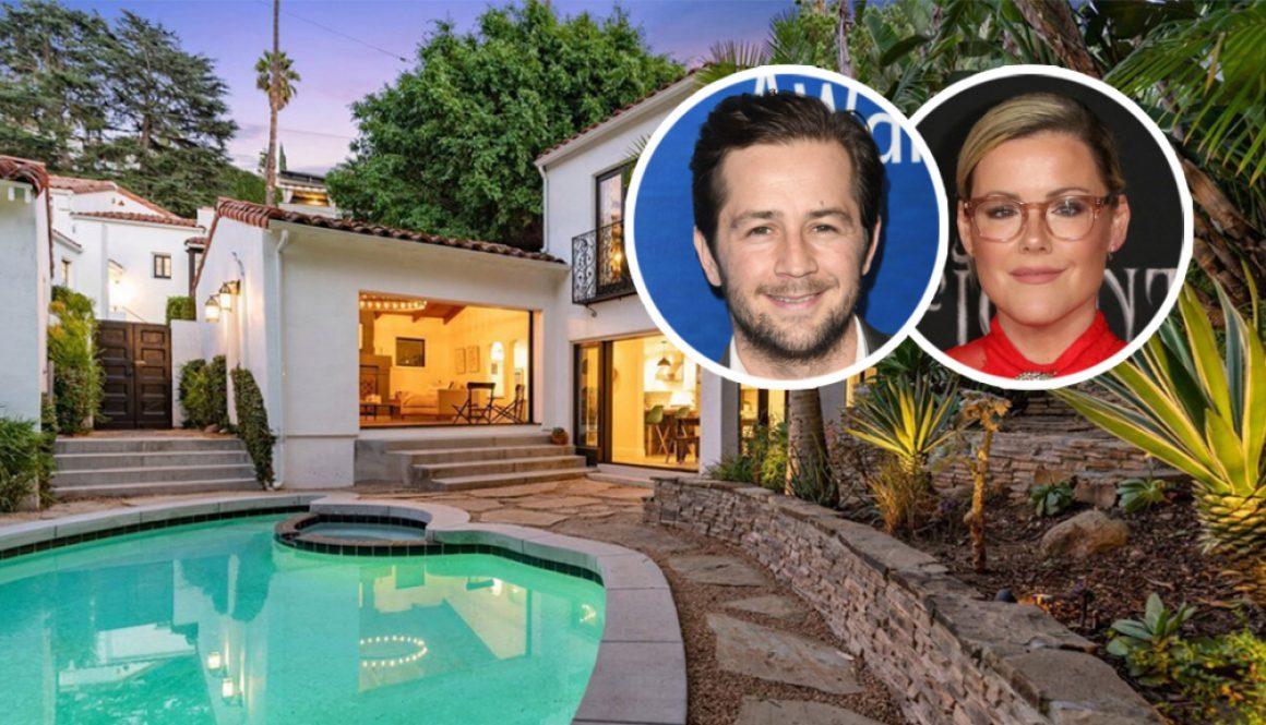 Michael Angarano Buys Kathleen Robertson's Glam Hollywoodland Home