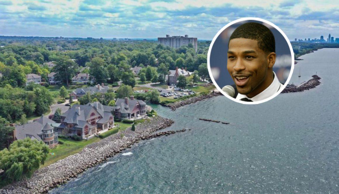 Tristan Thompson Lists Lakefront Ohio Mansion
