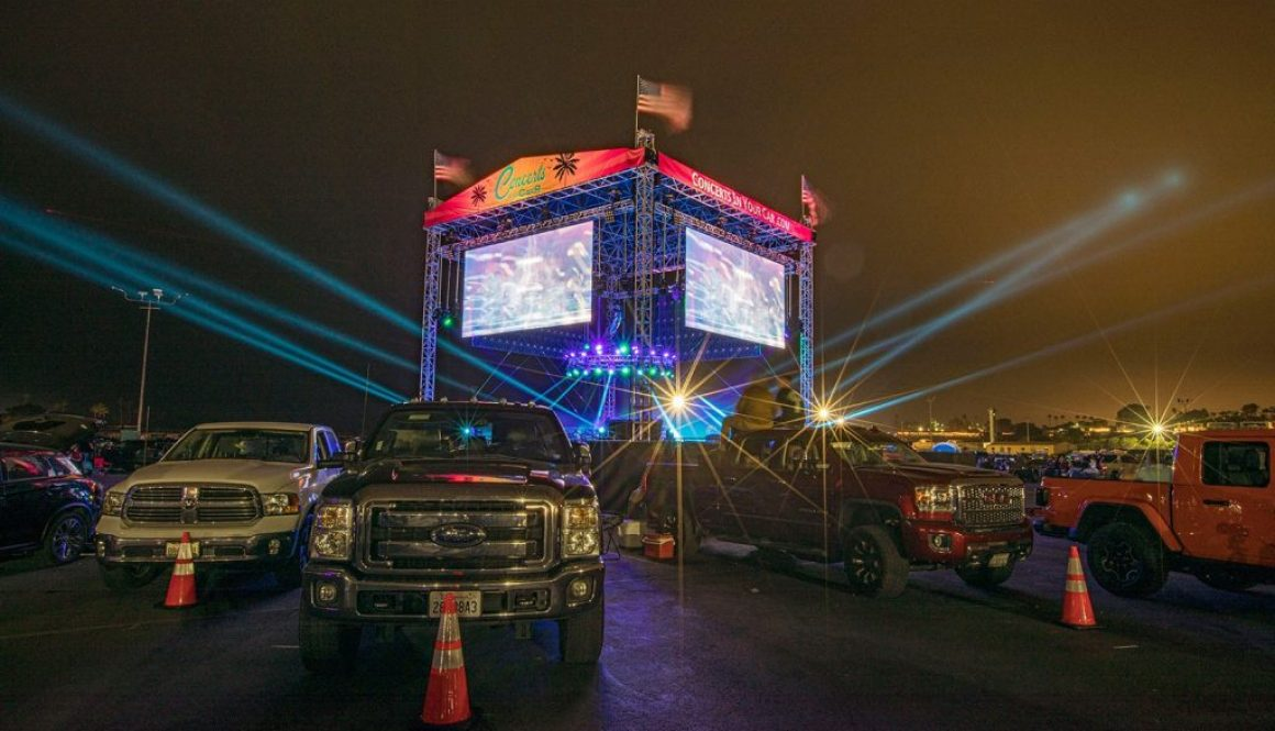 Encore Live Teams with MetaMedia for Drive-In Concert Series