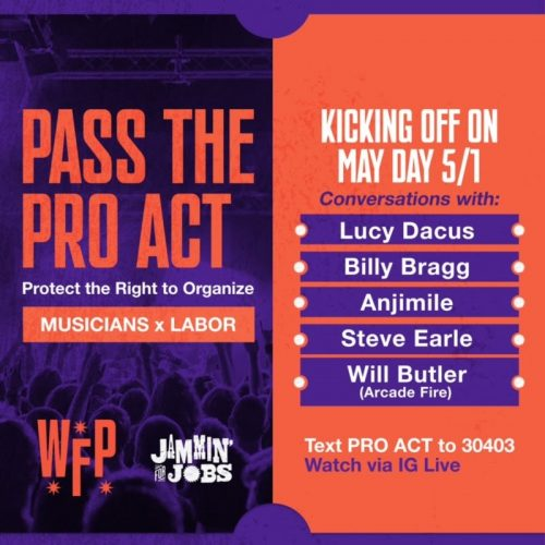 Billy Bragg, Lucy Dacus, Will Butler, and More Throw Support Behind PRO Act With New Working Families Party Conversation Series