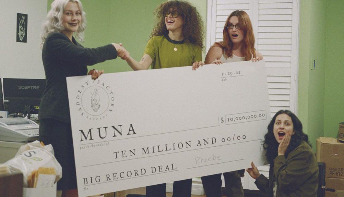The Deals: Phoebe Bridgers Signs MUNA / TikTok Links With SiriusXM