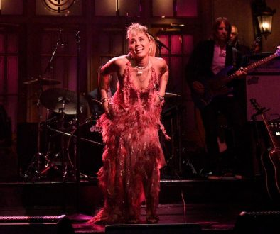 "Watch Miley Cyrus Perform ""Without You"" and ""Plastic Hearts"" on SNL"