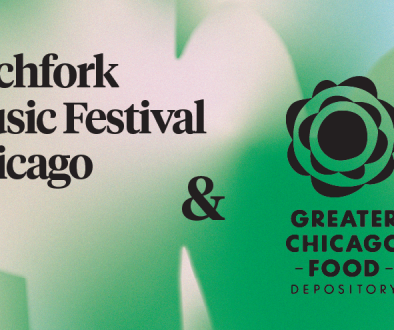 Pitchfork Music Festival Teams With the Greater Chicago Food Depository as Nonprofit Partner