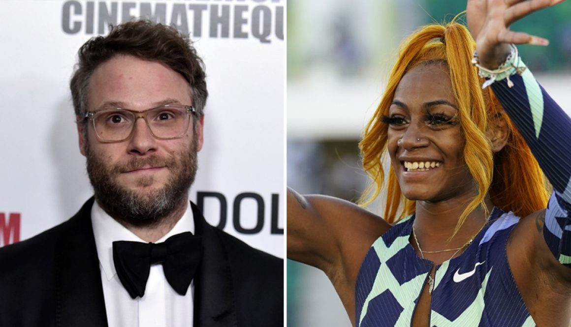 Seth Rogen, Other Celebrities Denounce Sha'Carri Richardson's Olympics Suspension: 'If Weed Made You Fast, I'd Be FloJo'