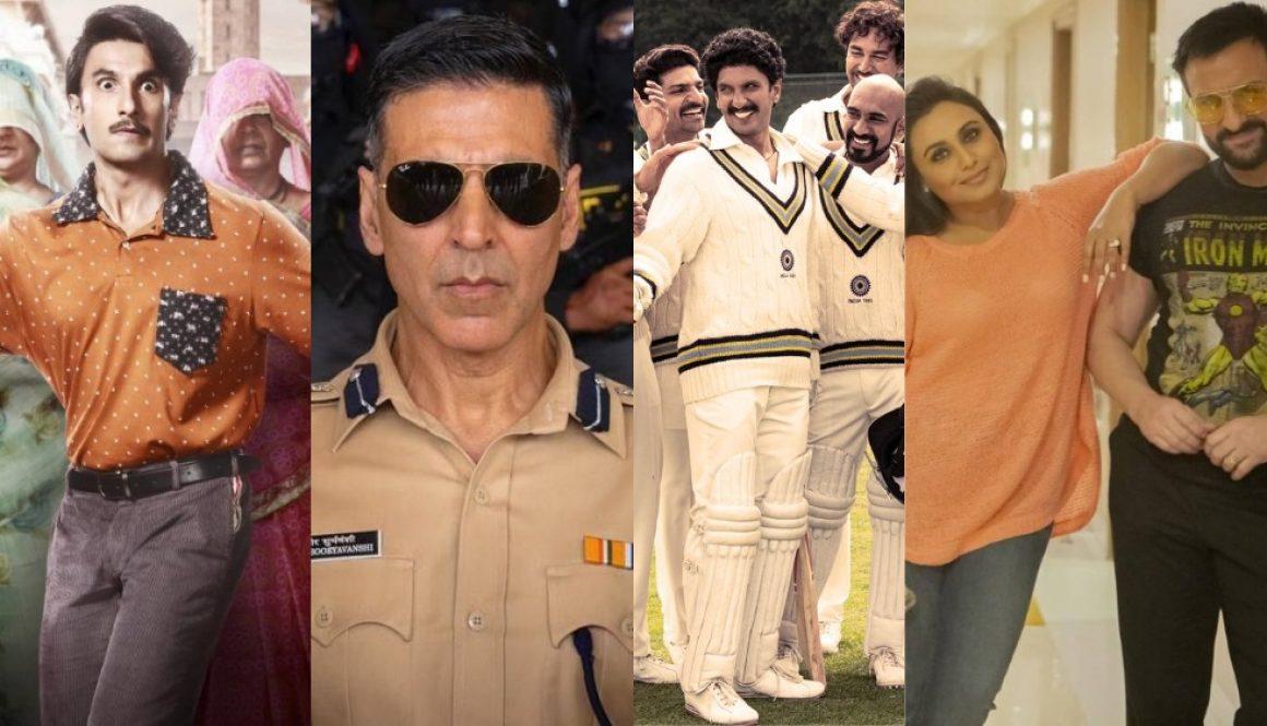Bollywood Sets Post-Pandemic Release Dates for Delayed Blockbusters Starring Akshay Kumar, Ranveer Singh