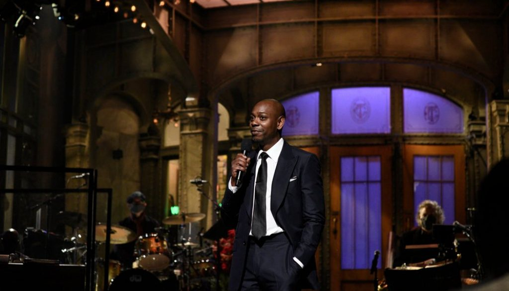 Dave Chappelle Wins Guest Comedy Actor Emmy for 'Saturday Night Live'