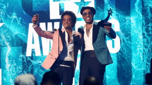 Bruno Mars and Anderson