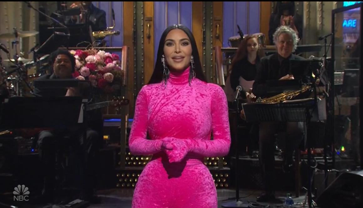 Kim Kardashian West Opens 'Saturday Night Live' With Edgy O.J