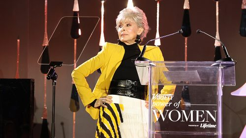 Rita Moreno Wants to 'Keep the Fires Burning for Those Who Aspire' at Variety's Power of Women Event