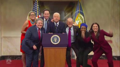 'Saturday Night Live' Starts Season 47 With James Austin Johnson Debuting as Joe Biden