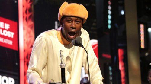 Tyler, the Creator Accepts Cultural Influence Award at BET Hip Hop Awards: Watch