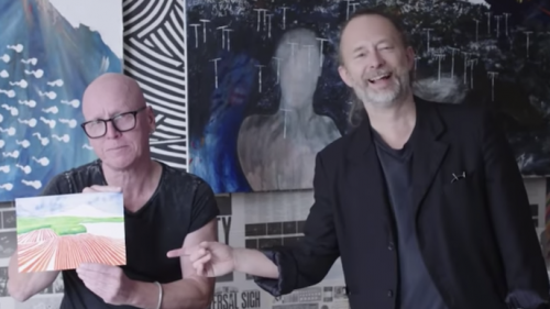 Watch Thom Yorke Discuss Radiohead Album Covers with Artist Stanley Donwood